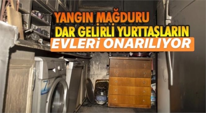 Mersin'de Yanan Evler Küllerinden Yeniden İnşa Ediliyor! Büyükşehir'den Yangın Mağduru Dar Gelirli Aileler İçin Yeni Uygulama