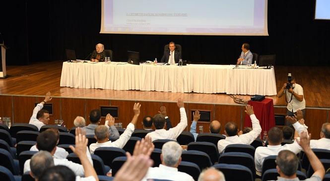 Mersin Büyükşehir Belediyesi Temmuz Ayı Meclis Toplantısı İkinci Birleşimi Yapıldı