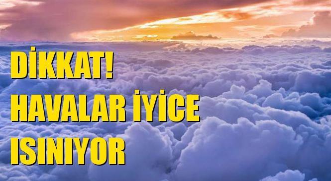 Havalar Isınıyor! Mersin Akdeniz, Çamlıyayla, Gülnar, Silifke, Mut, Aydıncık, Anamur, Mezitli, Yenişehir, Bozyazı, Erdemli, Tarsus ve Toroslar Hava Durumu