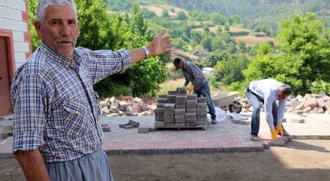 Erdemli Belediyesi'nden Camilere Hizmet