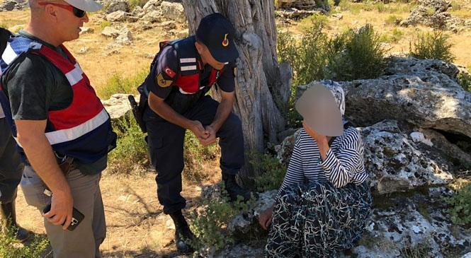Mersin Anamur'da Kaybolan Kadın Evinden 10 Km Uzakta Bulundu