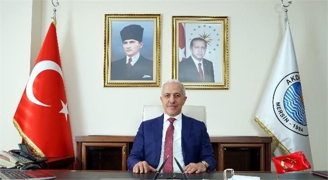 """Akdeniz Belediye Başkanı Gültak; """"Gazeteciler ve Basın Bayramı""""nı Kutladı"""
