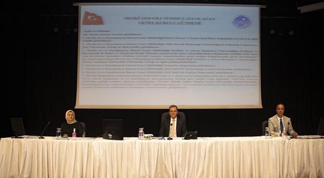 MESKİ, Ücret Tarifesini Güncelliyor: Büyükşehir Belediye Başkanı Seçer Teklif Etti, Su Faturalarında Yaklaşık % 20 İndirim Yapıldı