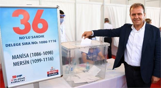 Başkan Vahap Seçer, CHP'nin 37. Olağan Kurultayı'na Katıldı