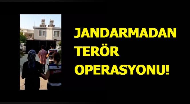Mersin Jandarmasından PKK/KCK/YPG Silahlı Terör Örgütü Üyelerine Operasyon