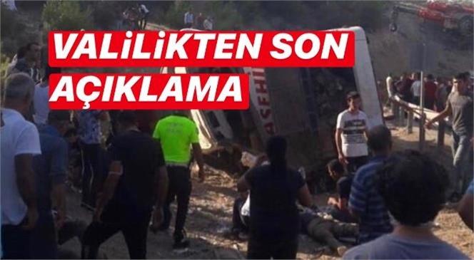Mersin Mut'ta Askeri Personeli Taşıyan Otobüs Devrildi: 4 Askerimiz Şehit, 2 Şoför Hayatını Kaybetti, 10 Yaralı