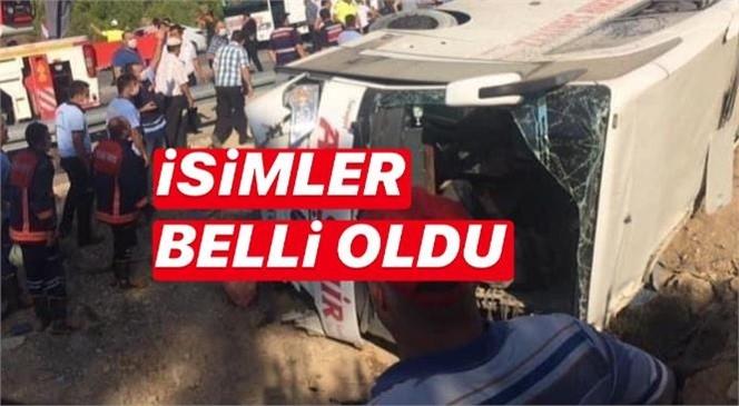 Mersin Mut'taki Kazada Şehit Olan Askerlerin ve Hayatını Kaybeden Şoförlerin İsimleri Belli Oldu