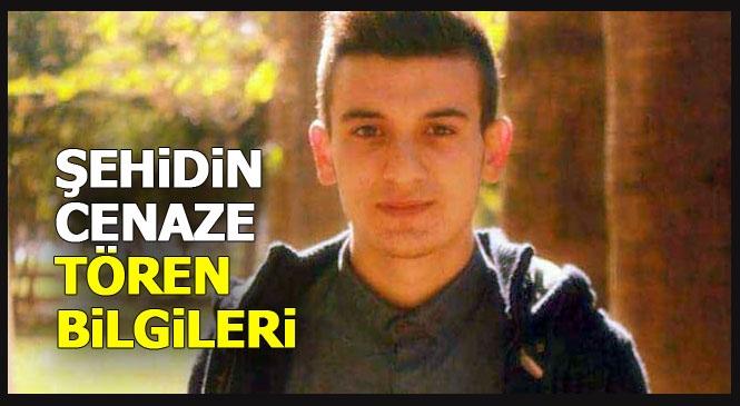 Cenaze Programı Belli Oldu! Mersin Mut'taki Otobüs Kazasında Şehit Olan Mustafa Dağlı Tarsus'ta Toprağa Verilecek