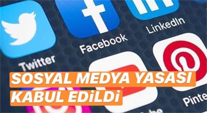 Sosyal Medyada Yeni Dönem! Sosyal Medyaya Yasası Teklifi Kabul Edildi