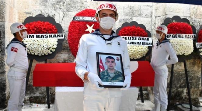 Şehit Mustafa Dağlı Son Yolculuğuna Uğurlandı