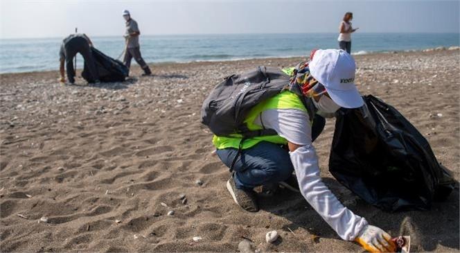 Sahil Pırıl Pırıl Oluyor, Tece Sahili İçin El Ele Verildi!