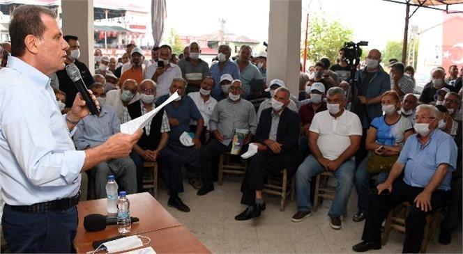 Başkan Seçer, Bayramın Son Günü Ayvagediği'nde Vatandaşlarla Buluştu