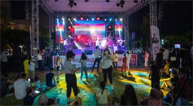 Mersin'de 8 İlçesinde 10'u Akustik, Toplam 61 Sosyal Mesafeli Konser Düzenlendi
