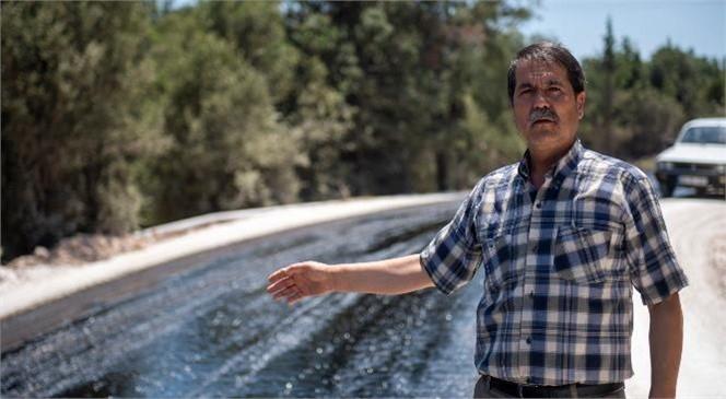 Mersin Büyükşehir Belediyesi, Kırsal Mahallelerde Cumhuriyet Tarihi Boyunca Görmezden Gelinmiş Yolları İlk Kez Asfalta Kavuşturuyor