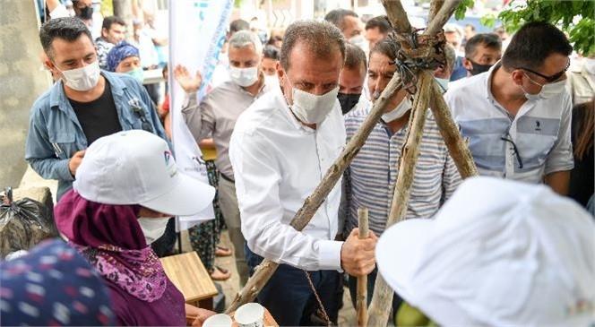 Mersin Büyükşehir Belediye Başkanı Vahap Seçer, Silifke'nin Kırsal Mahallelerini Gezdi