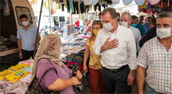 Başkan Seçer, Mevlana ve Halkkent'te Yurttaşlarla Buluştu