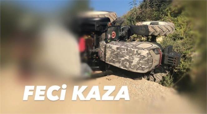 Mersin Tarsus'ta Meydana Gelen Olayda Devrilen Traktörün Altında Kalan Karı Koca Hayatını Kaybetti