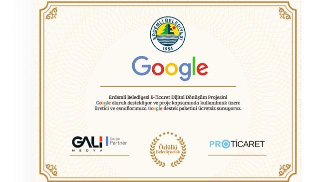 Mersin'in Erdemli İlçe Belediyesinden Dünya Devi İle İş Birliği; Erdemli Belediyesi İle Google Arasında İş Birliği