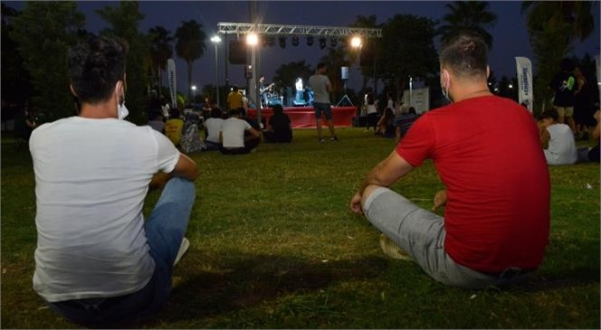 """Yenişehir Belediyesinden """"Açık Hava Gençlik Konseri"""""""