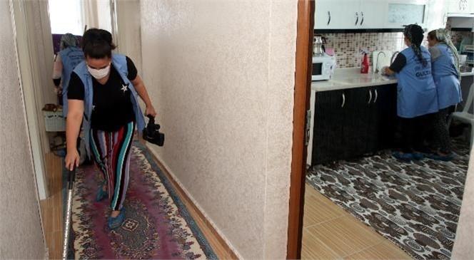 Akdeniz'de Evde Bakım ve Temizlik Hizmeti İle Yüzlerce İnsana Ulaşılıyor