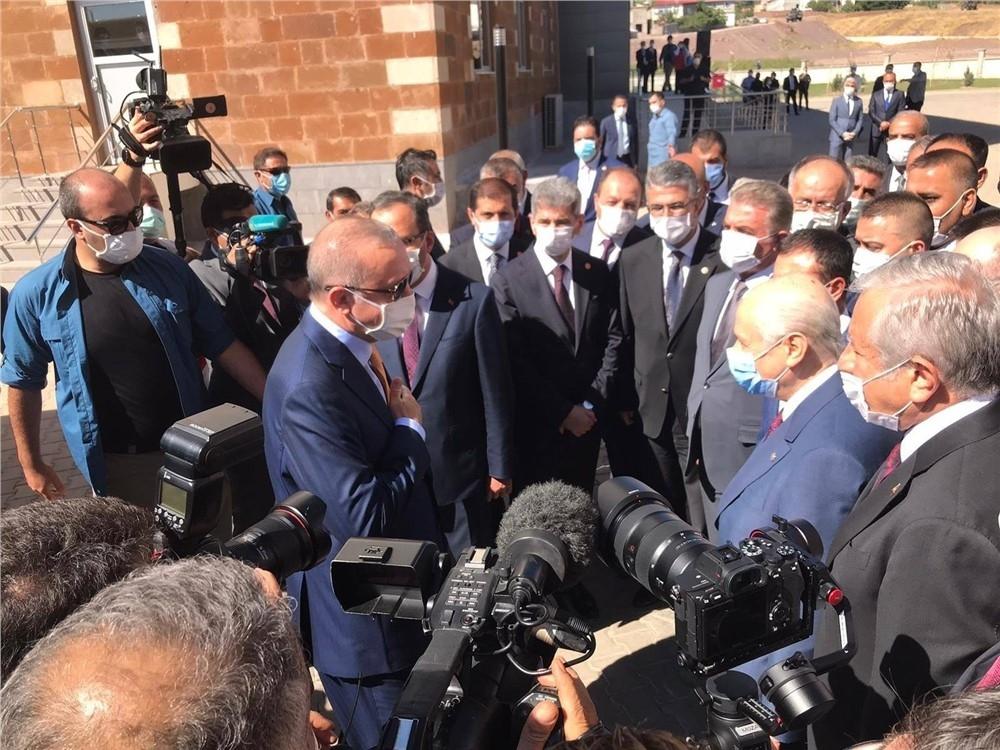 Başkan Can, Cumhurbaşkanı Erdoğan ve Devlet Bahçeli İle Açılışa Katıldı