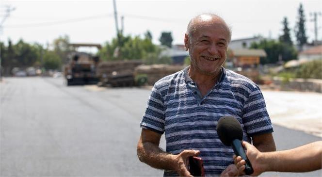 Mersin Sanayi Sitesi'nin 40 Yıllık Yol Sorunu Çözülüyor: Sanayi Sitesi Esnafı Büyükşehir'in Çalışmalarından Memnun
