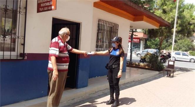 Mersin Toplum Polisi Uyardı