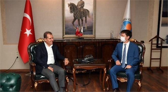 Tataristan Cumhuriyeti Türkiye Yetkili Temsilcisi Ayrat Gataullin Başkan Seçer'i Ziyaret Etti