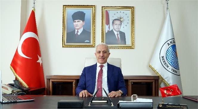Akdeniz Belediye Başkanı Gültak'tan, 30 Ağustos Mesajı