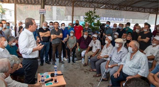 Başkan Vahap Seçer, Kazanlı ve Adanalıoğlu'nu Ziyaret Etti