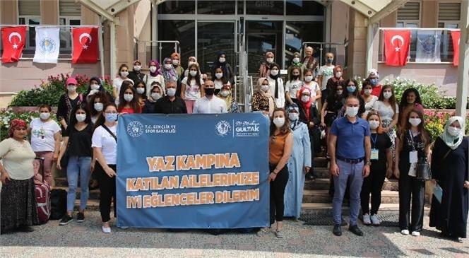 Akdeniz Belediyesi, Şehit Ailelerini Yaz Kampına Uğurladı