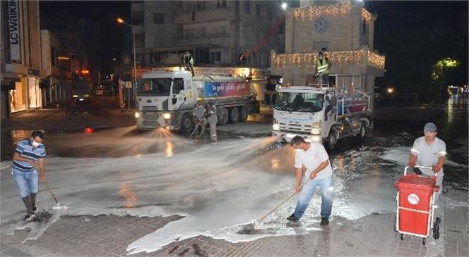 Mersin Büyükşehir Belediyesi Hijyen Konusundaki Çalışmalarına Devam Ediyor