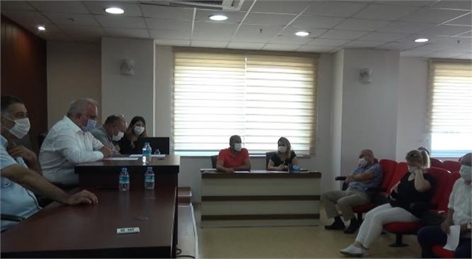 Erdemli Belediyesi, Eylül Ayı Kontrollü Meclis Toplantısını Gerçekleştirdi.
