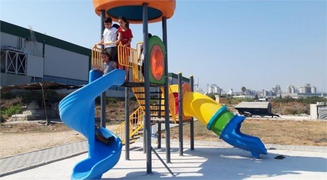Akdeniz Yeni Parklar Kazanıyor, Eskiyen Parklar Yenileniyor