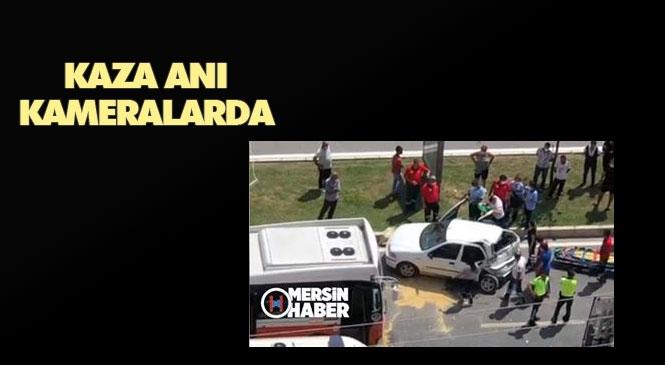 Kaza Anı Kameralarda