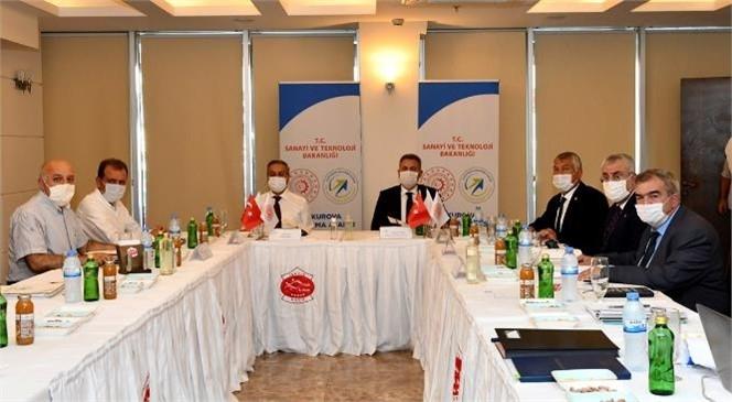 """""""ÇKA Yönetim Kurulu Toplantısı"""" Vali Su ve Vali Elban'ın Katılımlarıyla Gerçekleşti"""