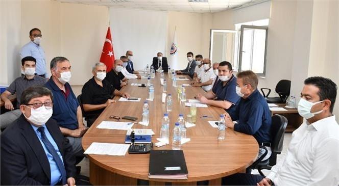 Silifke OSB Müteşebbis Heyet Toplantısı Vali Su Başkanlığında Gerçekleştirildi