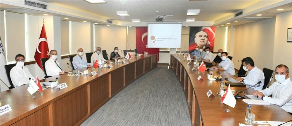 Tarsus OSB Yönetim Kurulu ve Müteşebbis Heyet Toplantısı Mersin Valisi Ali İhsan Su Başkanlığında Gerçekleştirildi