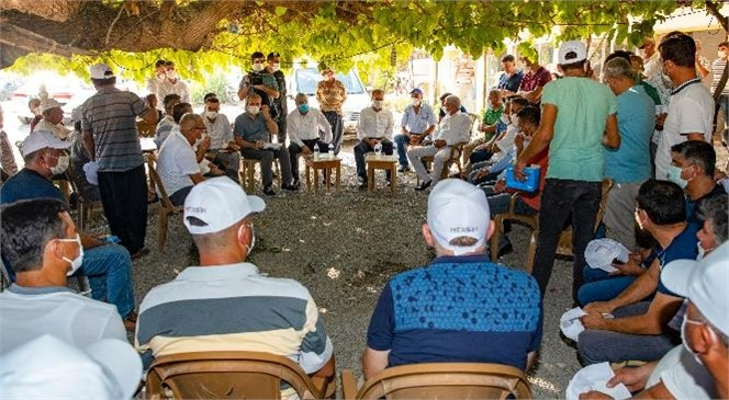Mersin'in İlçelerine Çıkarma Yapan ve Başkan Seçer Silifke, Aydıncık, Bozyazı ve Anamur'da İncelemelerde Bulundu