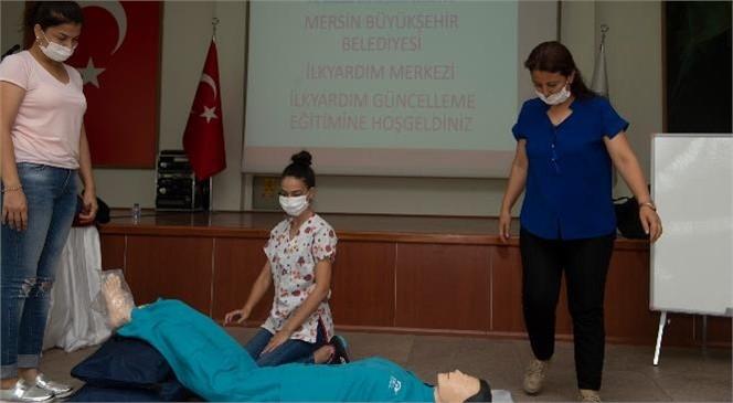 """Mersin Büyükşehir Bünyesinde """"İlk Yardım Merkezi"""" Açıldı"""