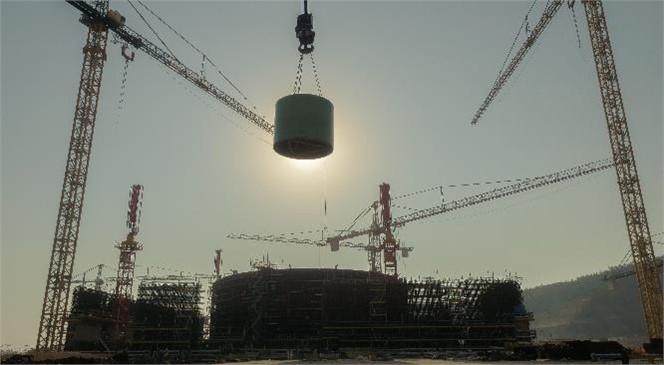 Akkuyu Ngs 1. Güç Ünitesinde Kuru Reaktör Koruyucu Monte Edildi