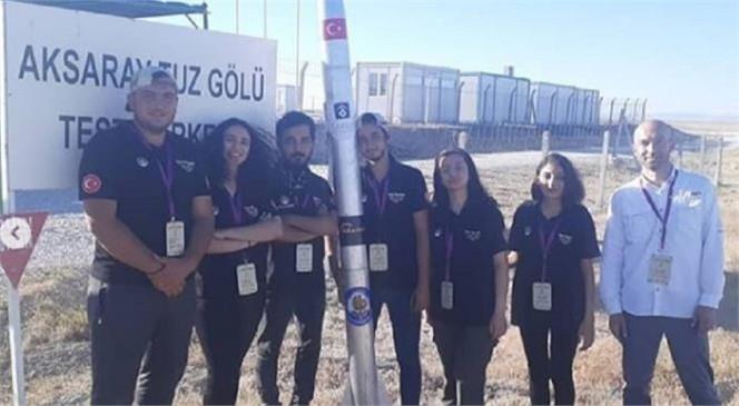 Tarsus Roket Takımı'nı Tebrik Ediyoruz.