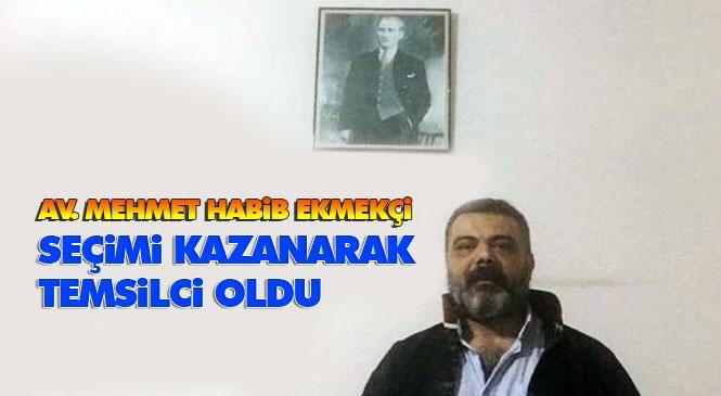 Baro Temsilciliği Seçimini Av.Mehmet Habib Ekmekçi Kazandı