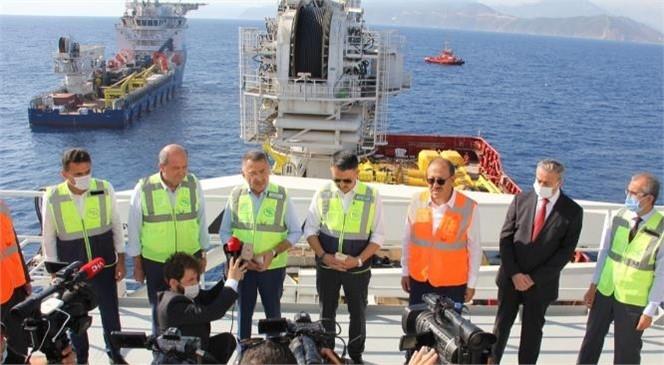"""Mersin'de Konuşan Cumhurbaşkanı Yardımcısı Fuat Oktay """"25 Eylül'de Anadolu'dan KKTC'ye Yeniden Su Verilmeye Başlanacak"""""""
