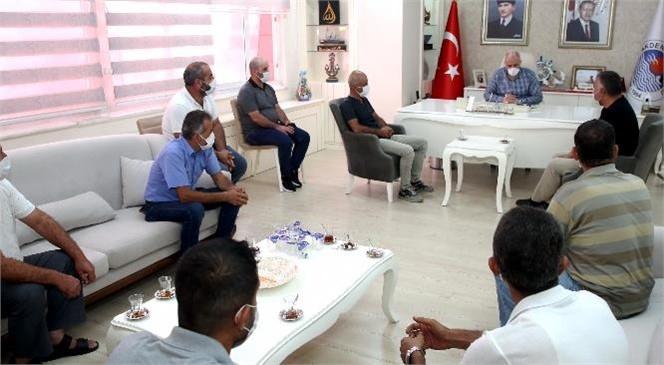 Akdeniz Belediyesinden Çıkışları Verilen 10 Personelin İşe İadeleri Yapıldı