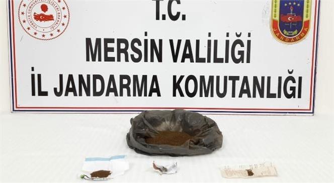 Mersin'de Jandarmadan Silifke Atakent'te Uyuşturucu Ticareti Yapanlara Yönelik Operasyon