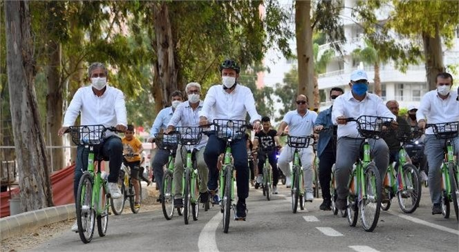 Avrupa Hareketlilik Haftası'nda Mersin'de Sıfır Emisyonlu Ulaşım Amaçlanıyor