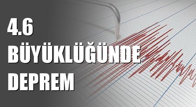 Merkez Üssü Sazlıkbası - Korkut (Muş) Olan 4.6 Büyüklüğünde Deprem Meydana Geldi
