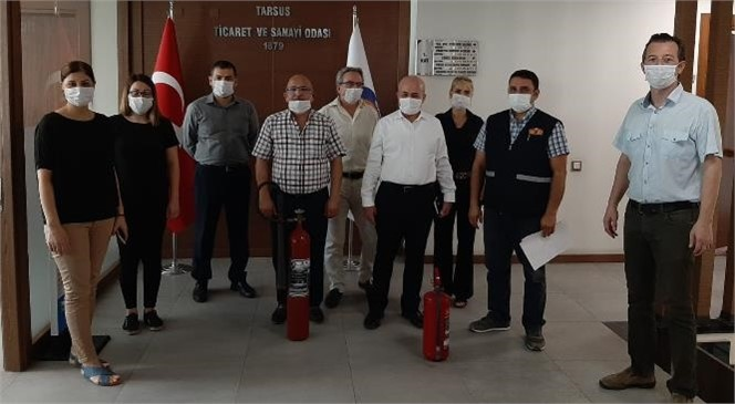 Tarsus TSO'da Yangın Eğitimi