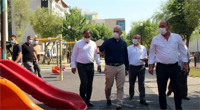 Akdeniz Belediye Başkanı Gültak, Üçocak Sakinleri ve Esnafını Ziyaret Etti